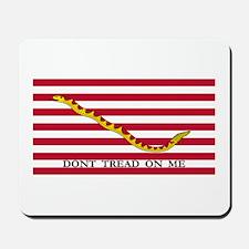 Naval Jack Flag - Don't Tread Mousepad