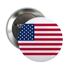 "American Flag 2.25"" Button"