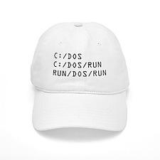 C DOS RUN Baseball Cap