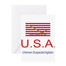 U.S.A - Unknown Suspected Agi Greeting Card