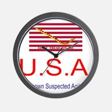U.S.A - Unknown Suspected Agi Wall Clock