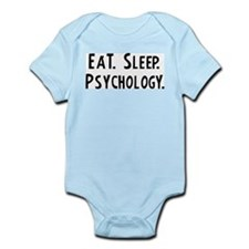 Eat, Sleep, Psychology Infant Creeper