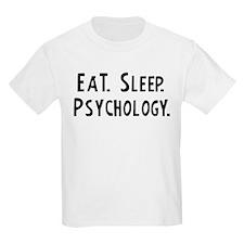 Eat, Sleep, Psychology Kids T-Shirt