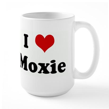 I Love Moxie Large Mug
