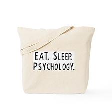 Eat, Sleep, Psychology Tote Bag
