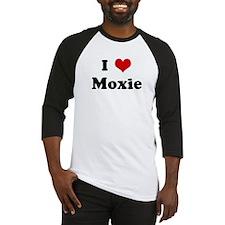 I Love Moxie Baseball Jersey
