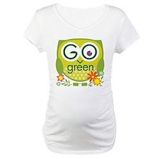 Go Green Owl Shirt