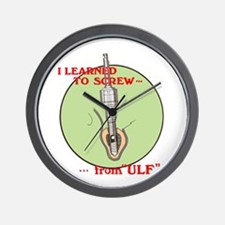 Learned to screw from ULF Wall Clock