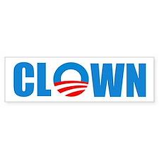 Anti Obama! Clown Bumper Bumper Stickers