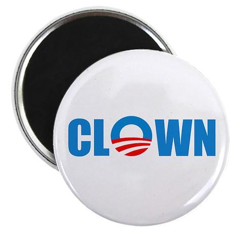 """Anti Obama! Clown 2.25"""" Magnet (10 pack)"""