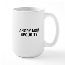 Angry Mob Security Mug