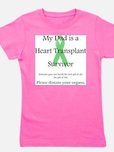 Dad Heart Transplan T-Shirt