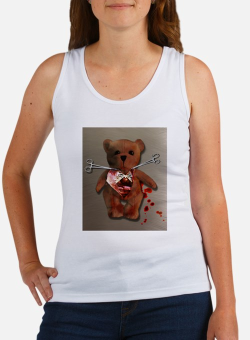 Autopsy of T. Bear Women's Tank Top