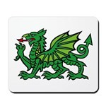 Green Dragon Mousepad