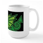 Green Dragon Large Mug