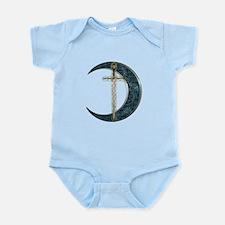 Colorful Celtic Moon and Swor Infant Bodysuit