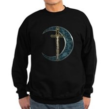 Colorful Celtic Moon and Swor Jumper Sweater