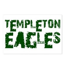 TEMPLETON EAGLES (2) Postcards (Package of 8)