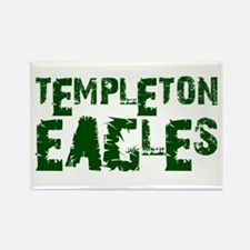 TEMPLETON EAGLES (2) Rectangle Magnet