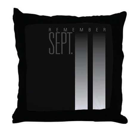 9/11 Throw Pillow