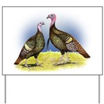 Rio Grande Wild Turkeys Yard Sign