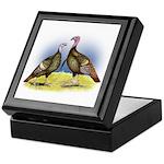 Rio Grande Wild Turkeys Keepsake Box