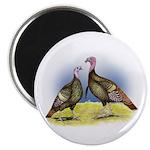 """Rio Grande Wild Turkeys 2.25"""" Magnet (100 pac"""