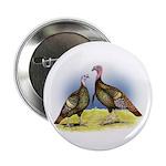 """Rio Grande Wild Turkeys 2.25"""" Button (100 pac"""