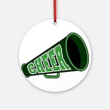 CHEER (megaphone) Ornament (Round)