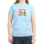 World's Greatest Mommy Women's Pink T-Shirt