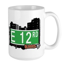 E 12 ROAD, QUEENS, NYC Mug