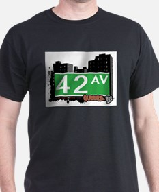 42 AVENUE, QUEENS, NYC T-Shirt