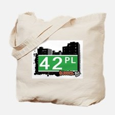 42 PLACE, QUEENS, NYC Tote Bag