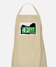 42 STREET, QUEENS, NYC Apron