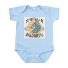 Boys Dinosaur R Dino-Mite Infant Creeper