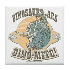 Boys Dinosaur R Dino-Mite Tile Coaster