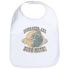 Boys Dinosaur R Dino-Mite Bib