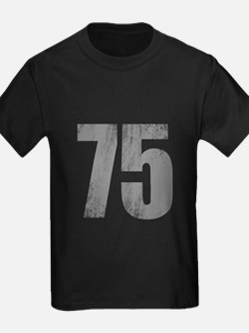 Stonewashed 75th Birthday T-Shirt