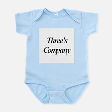 Three's Company Infant Creeper