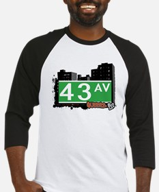 43 AVENUE, QUEENS, NYC Baseball Jersey
