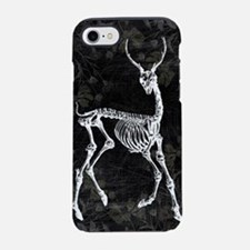 Prancing Deer Skeleton iPhone 7 Tough Case
