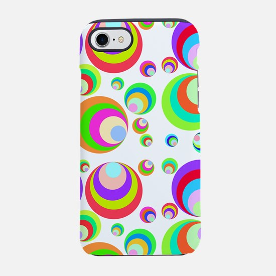 Funky background 60s iPhone 7 Tough Case