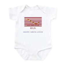 USA (unknown suspected agitat Infant Bodysuit