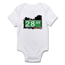 28 AVENUE, QUEENS, NYC Infant Bodysuit