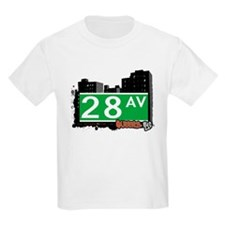 28 AVENUE, QUEENS, NYC T-Shirt