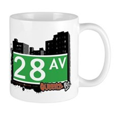 28 AVENUE, QUEENS, NYC Mug
