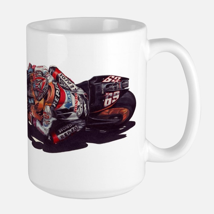 Nicky Hayden Large Mug