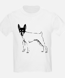 Toy Fox Terrier Kids T-Shirt