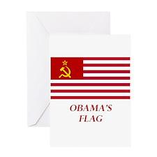 Obama's New Flag Greeting Card