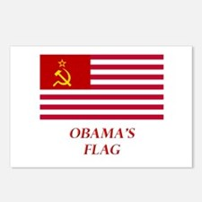 Obama's New Flag Postcards (Package of 8)